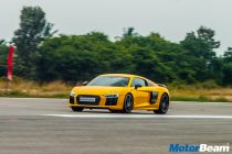 2016 Audi R8 Track Review