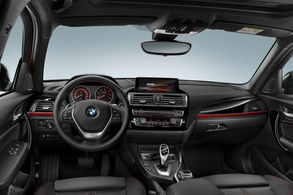 2016 BMW 1-Series Facelift Dashboard