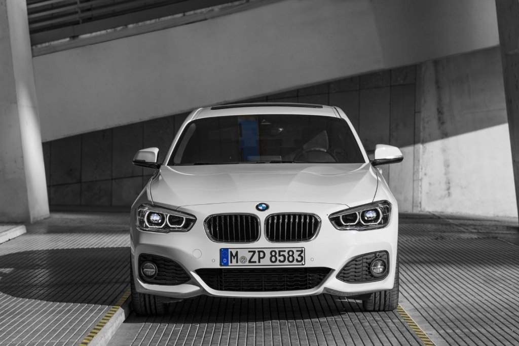 2016 BMW 1-Series Facelift Front