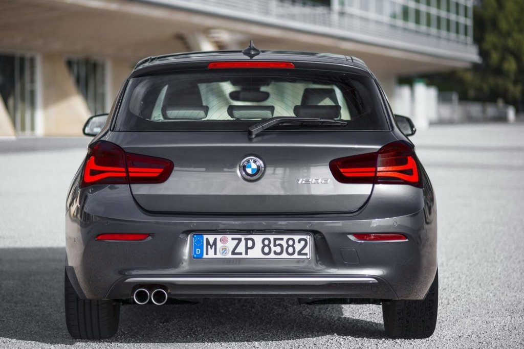 2016 BMW 1-Series Facelift Tail Lights