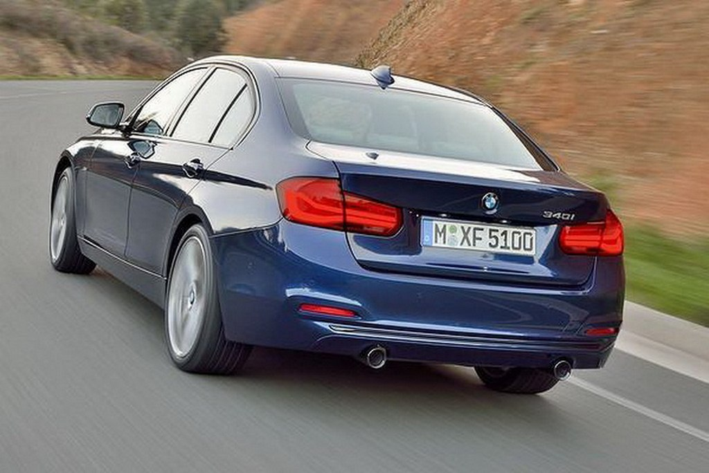 2016 BMW 3-Series Facelift Rear