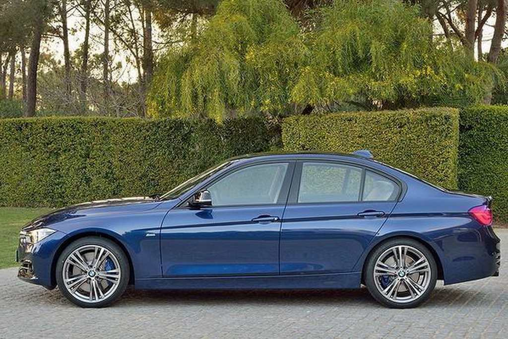 2016 BMW 3-Series Facelift Side
