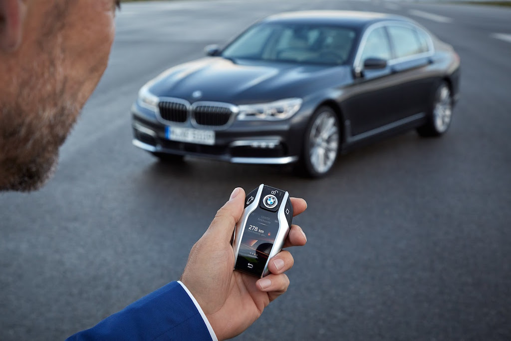 2016 BMW 7-Series Key Fob