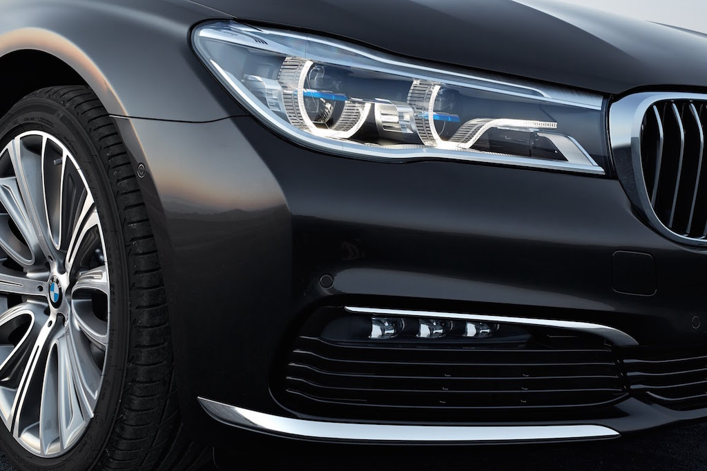 2016 BMW 7-Series Laserlight Headlights