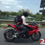 2016 Bajaj Pulsar RS 400 Test Mule