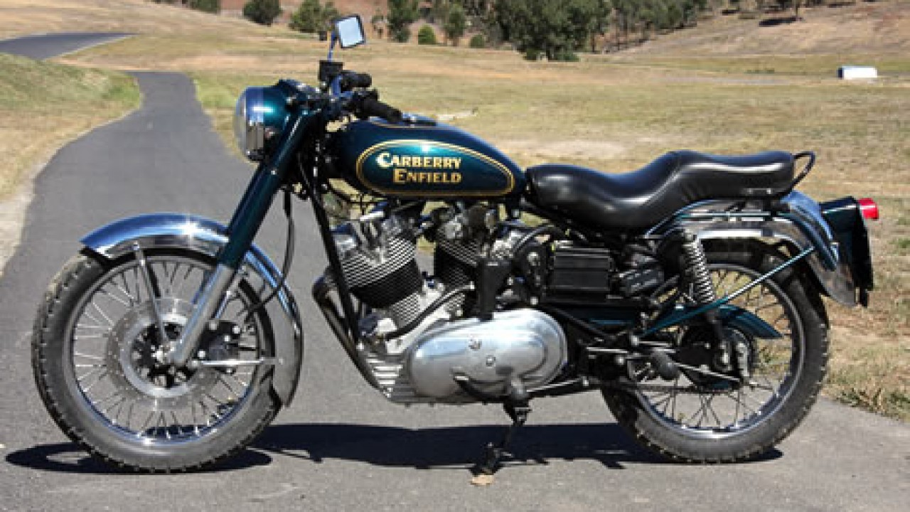 2016 Carberry Enfield Double Barrel Side