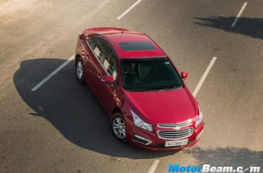 2016 Chevrolet Cruze Facelift Review