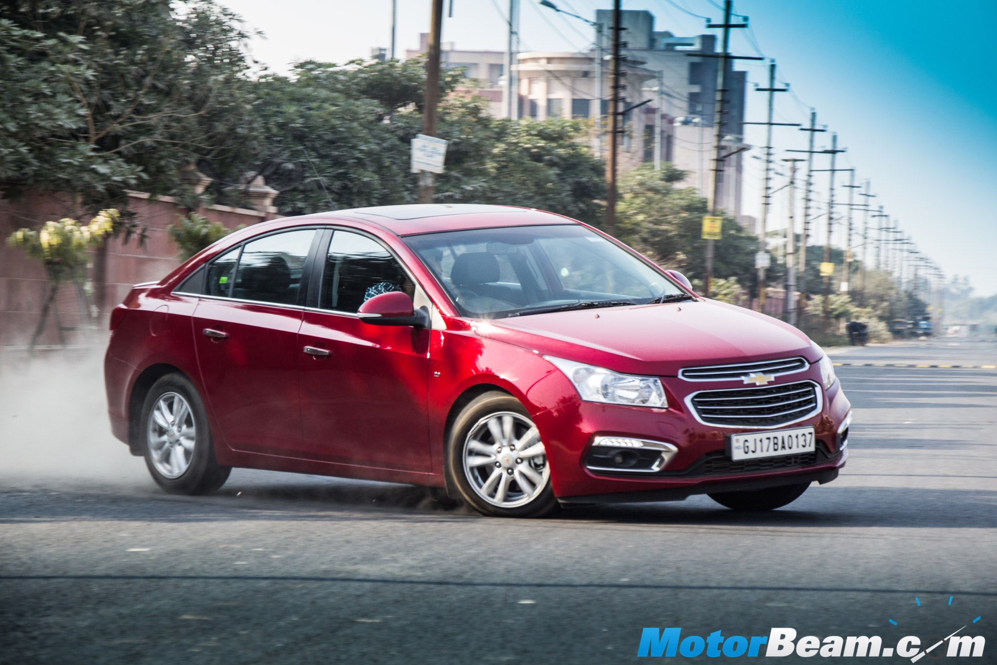 2016 Chevrolet Cruze Facelift Test Drive