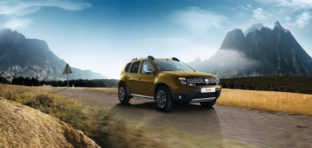 2016 Dacia Duster Front