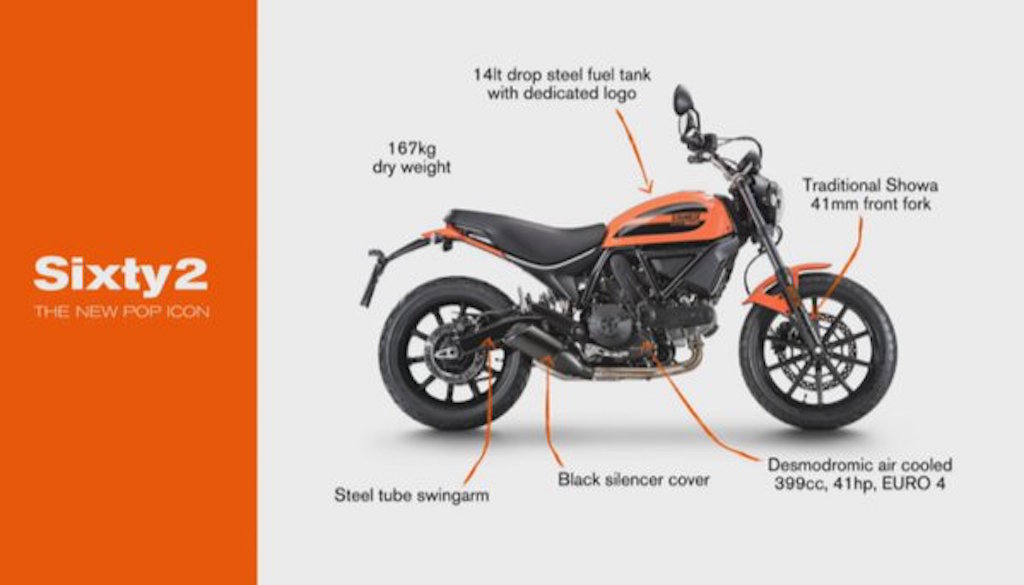 2016 Ducati Scrambler Sixty2 Officially Revealed At Eicma 2015