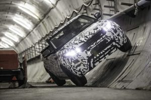 2016 Evoque Convertible Crossrail Tunnels