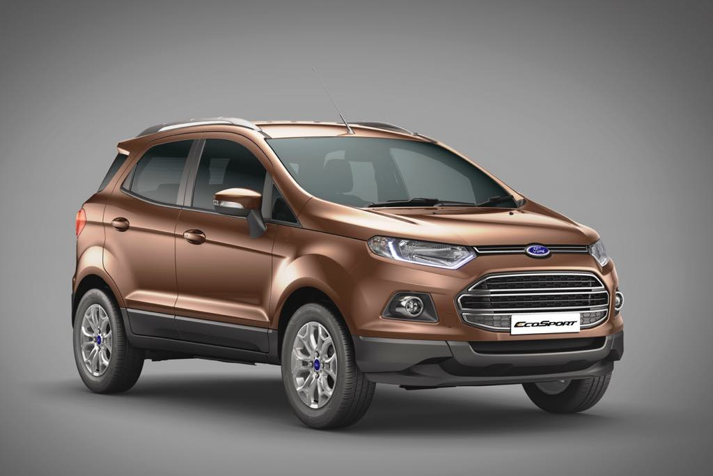 2016 Ford EcoSport Golden Bronze