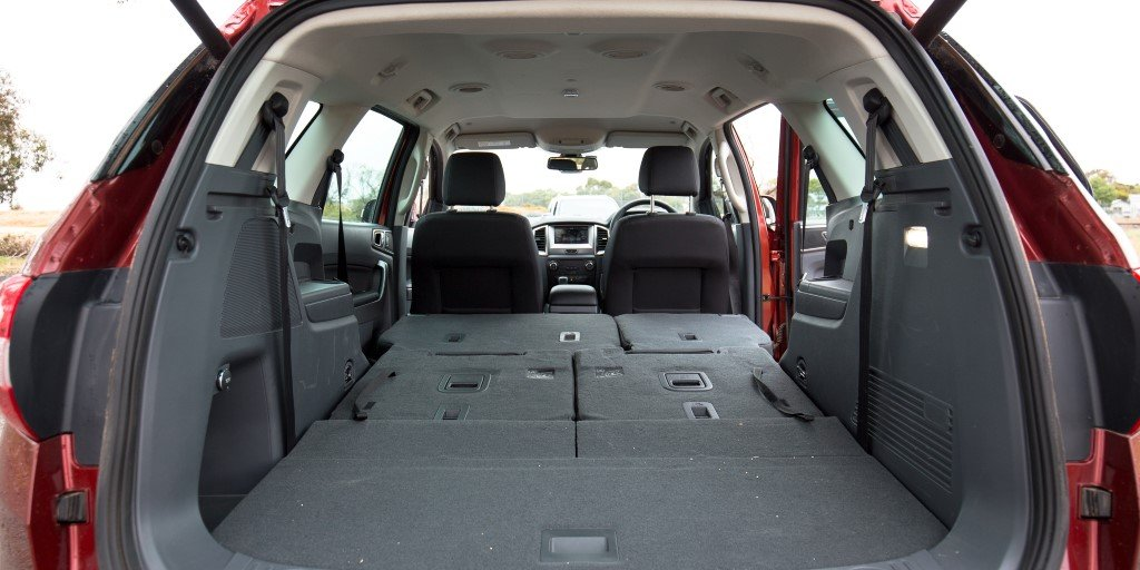 2016 Ford Endeavour Boot Space