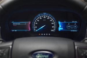 2016 Ford Endeavour Dashboard