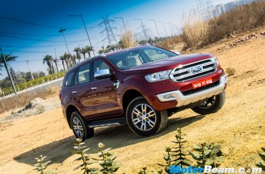 2016 Ford Endeavour Review
