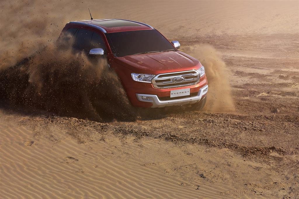 2016 Ford Endeavour SUV