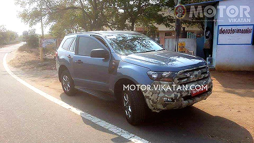 2016 Ford Endeavour Test Mule