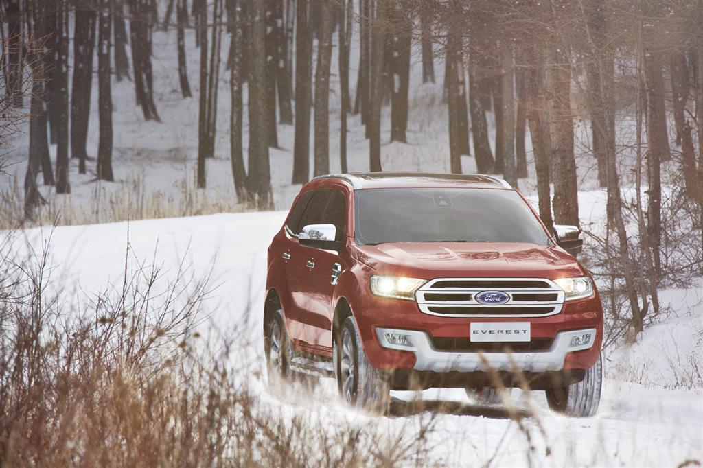 2016 Ford Endeavour Wallpaper