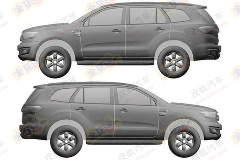 2016 Ford Everest Patent Side