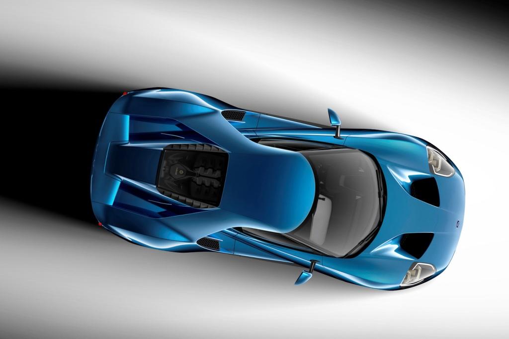 2016 Ford GT Detroit Motor Show