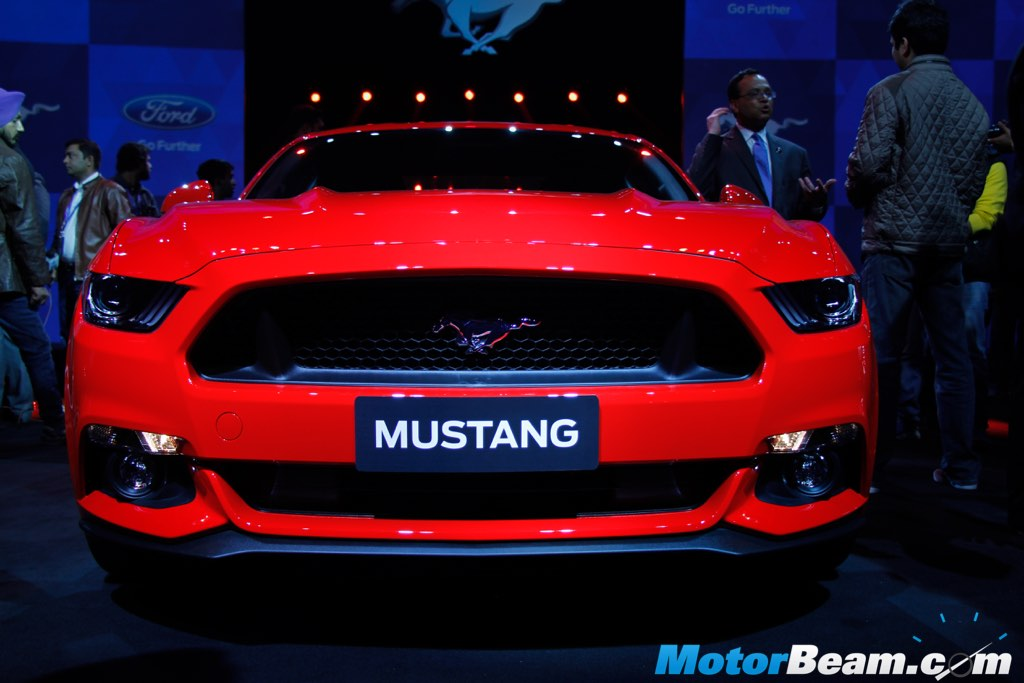 2016 Ford Mustang Front