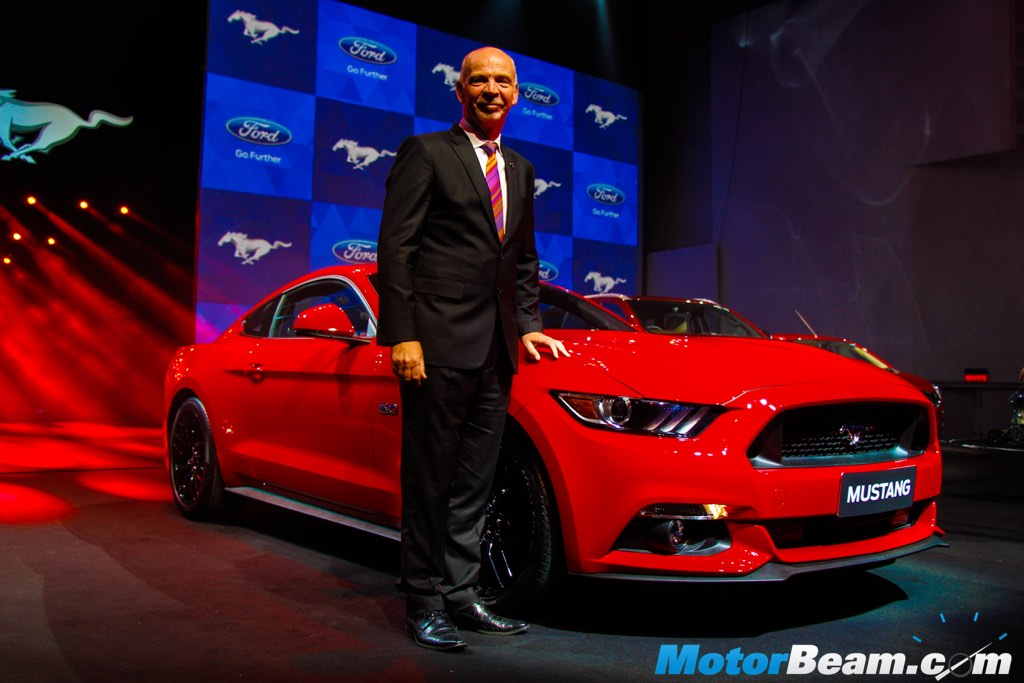 2016 Ford Mustang India Launch