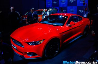 2016 Ford Mustang India Reveal