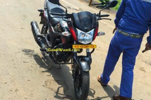 2016 Hero Hunk Facelift Leaked Front