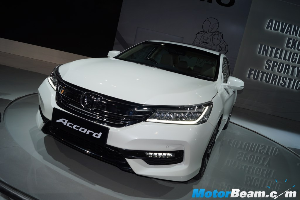 2016 Honda Accord Front