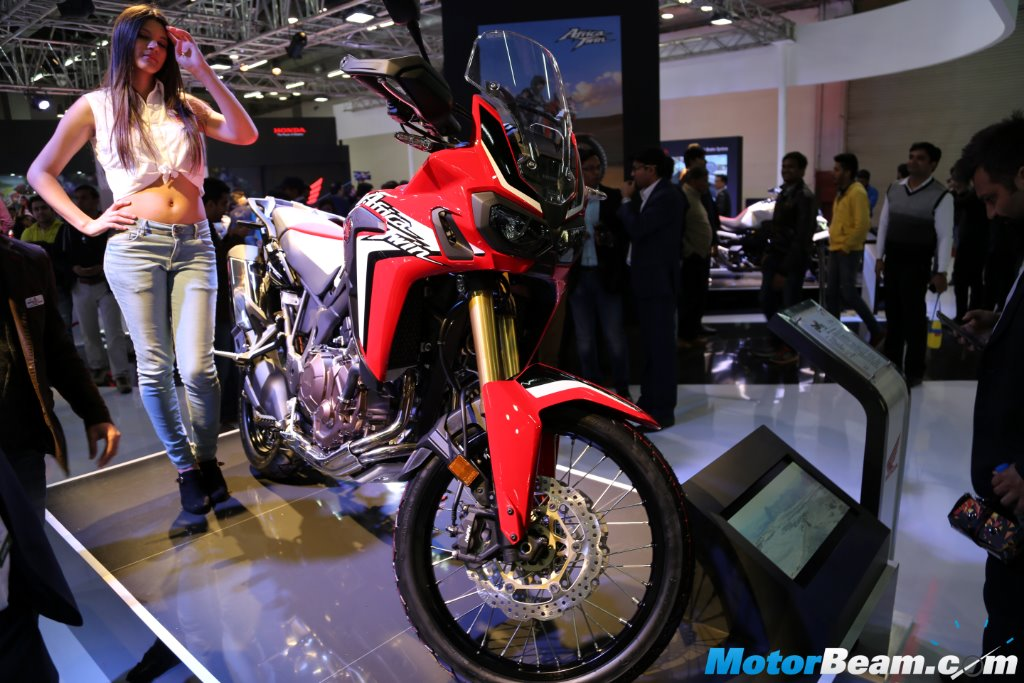2016 Honda Africa Twin Front