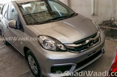 Honda Amaze Facelift Spied, Launch On 3rd March