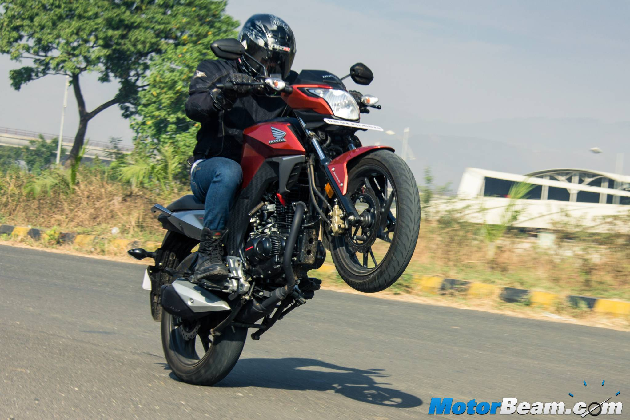 2016 Honda CB Hornet 160R Test Ride