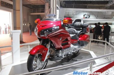 2016 Honda Goldwing Showcased At Auto Expo