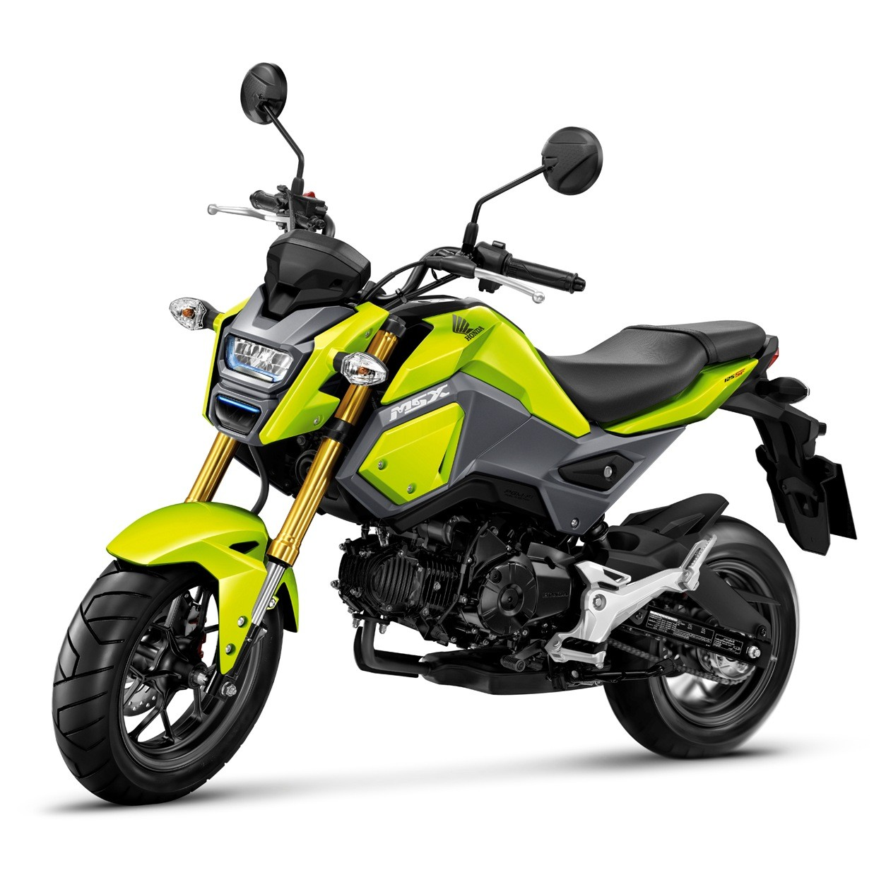 2016 Honda MSX125SF Yellow Front