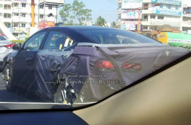 Camouflaged 2016 Hyundai Elantra Spied In India For First Time