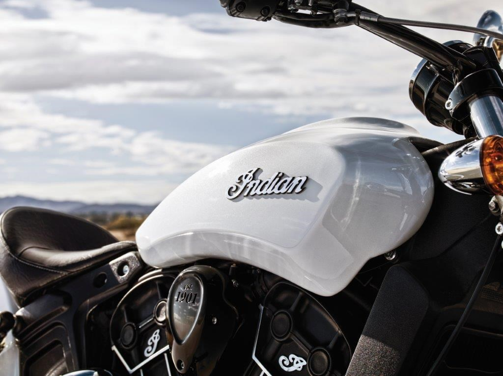 2016 Indian Scout Sixty Engine