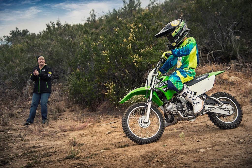 kawasaki to launch klx 110 off-roader motorcycle in india