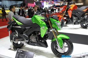 2016 Kawasaki Z125 Features