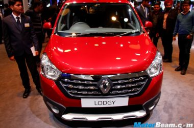 2016 Lodgy World Edition Front