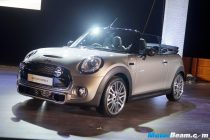 2016 MINI Convertible S Launch Front