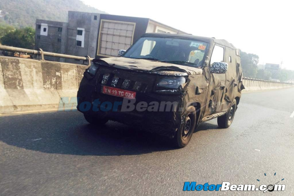 2016 Mahindra Bolero On Test