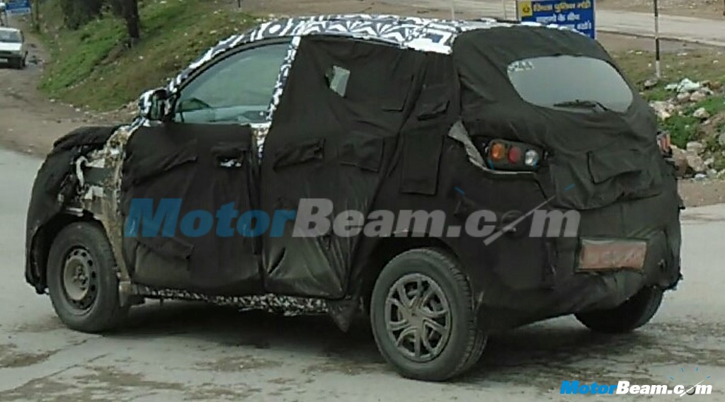 2016 Mahindra S101 Spy Shot