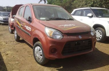 2016 Maruti Alto 800 Facelift Spotted Again, Launch Imminent