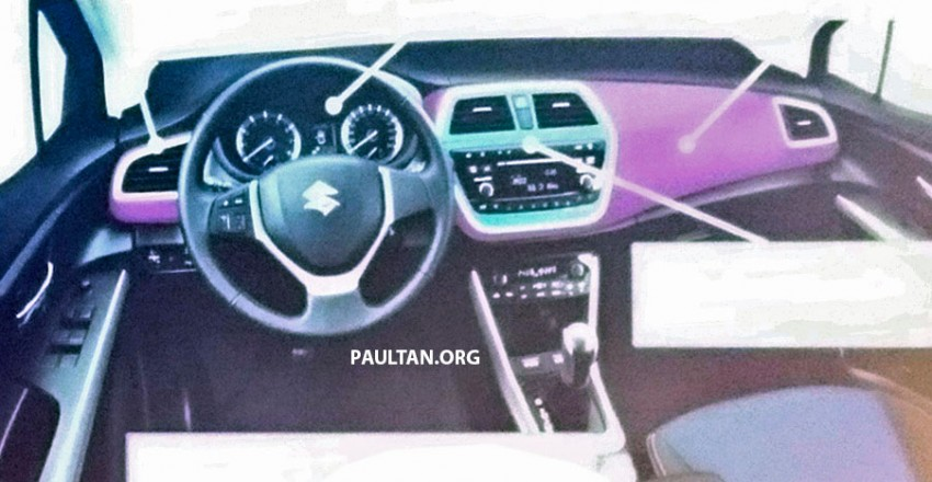 2016 Maruti S-Cross Facelift Interior