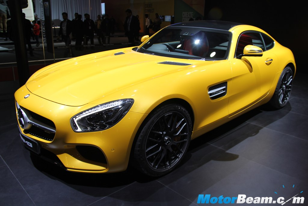 2016 Mercedes AMG GT Front