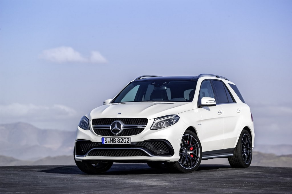 2016 Mercedes Benz GLE AMG Front