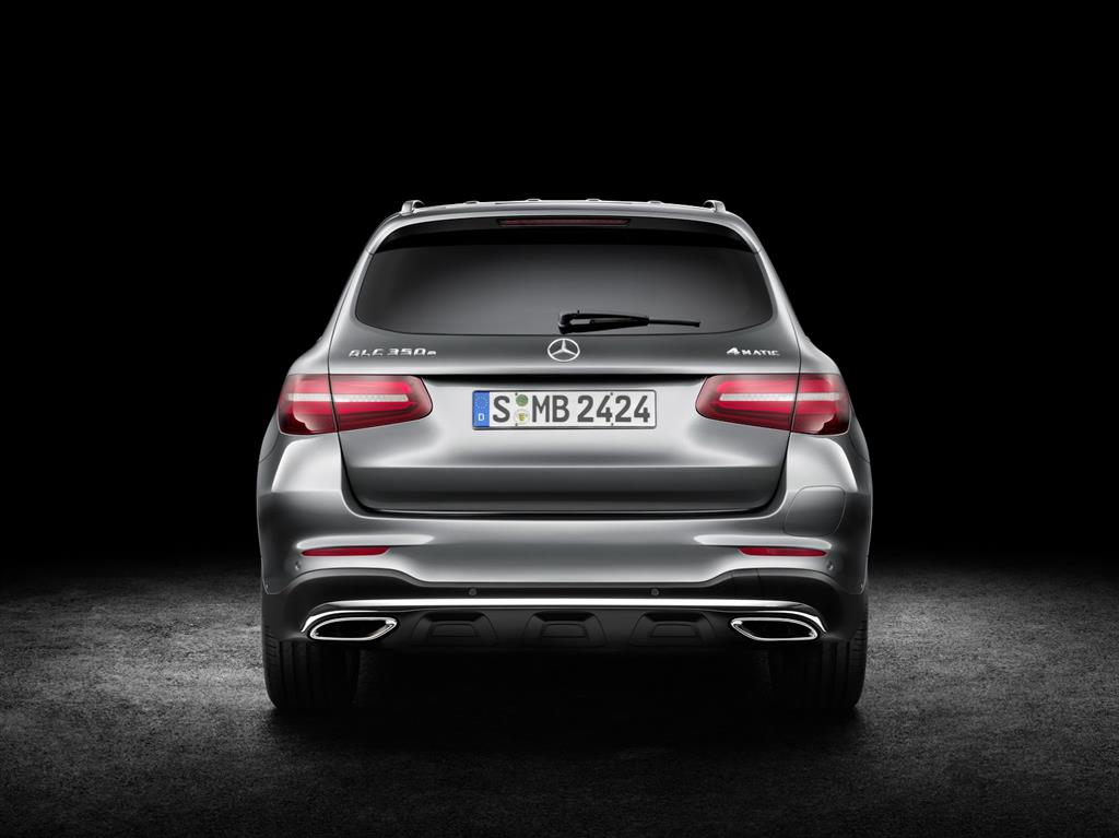 2016 Mercedes GLC Rear