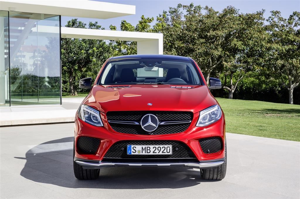 2016 Mercedes GLE Front