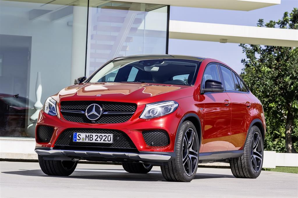 2016 Mercedes GLE Wallpaper