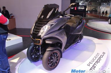 Peugeot Showcases Metropolis, Speedfight, DJango At 2016 Auto Expo